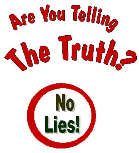 Telling the truth essay topic